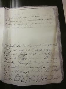 Notizbuch. Johanna Theresia Harrach.